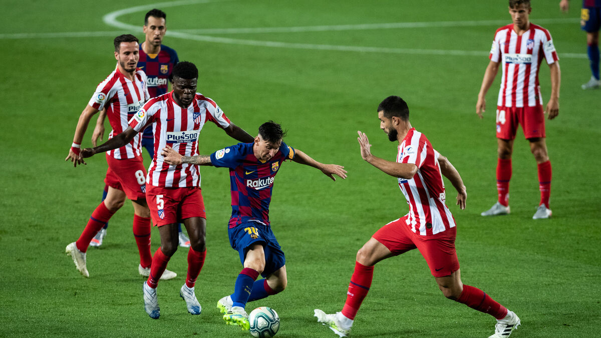 Atletico Madrid Gegen Barcelona