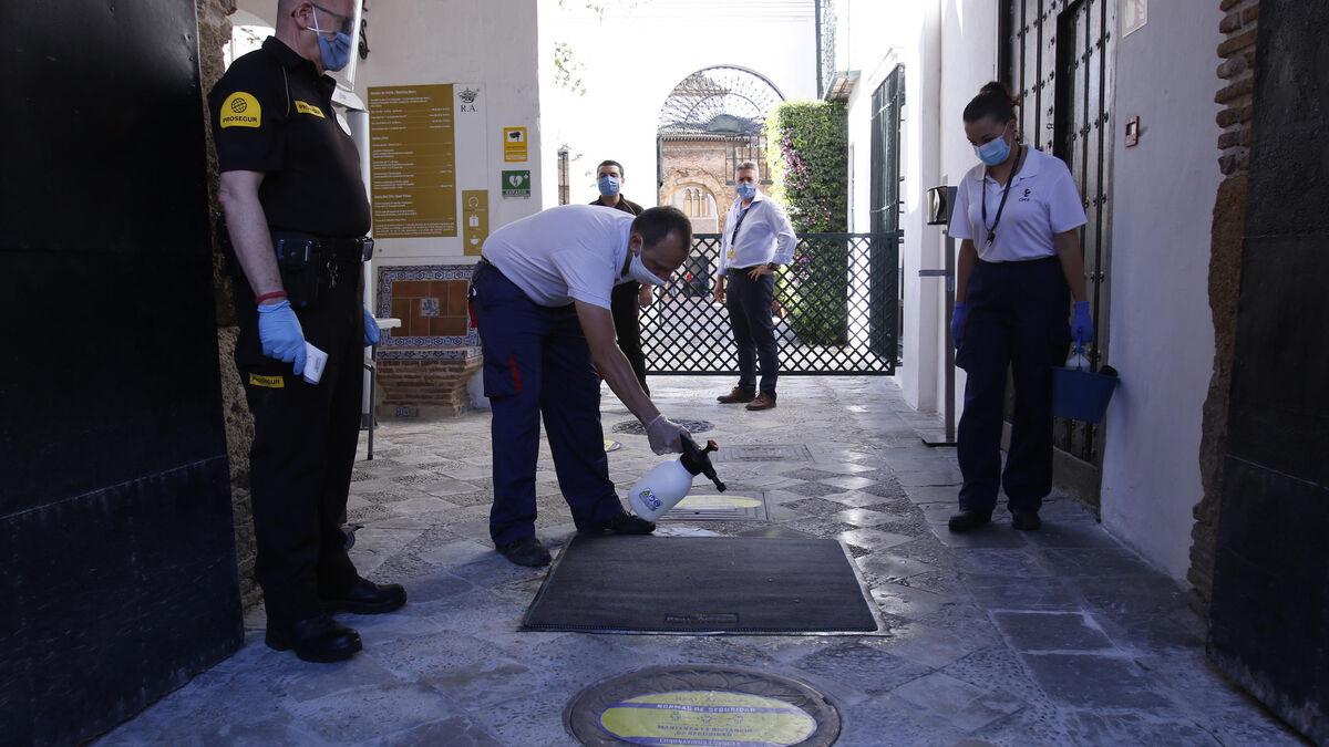 El Alcázar de Sevilla cuenta por primera vez con un director de seguridad