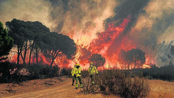 Incendio en Almonster