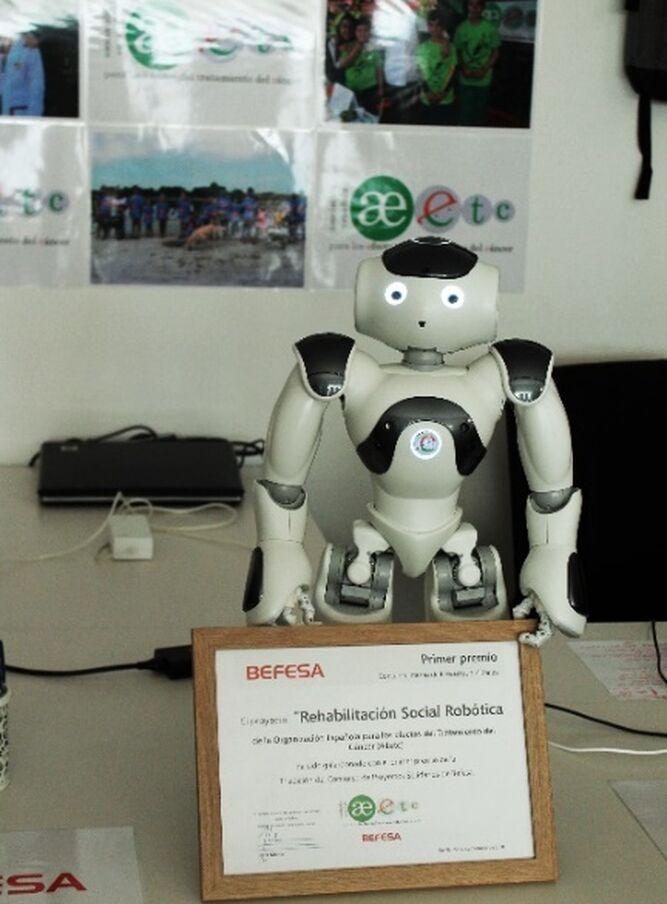 El robot 'Curro'.