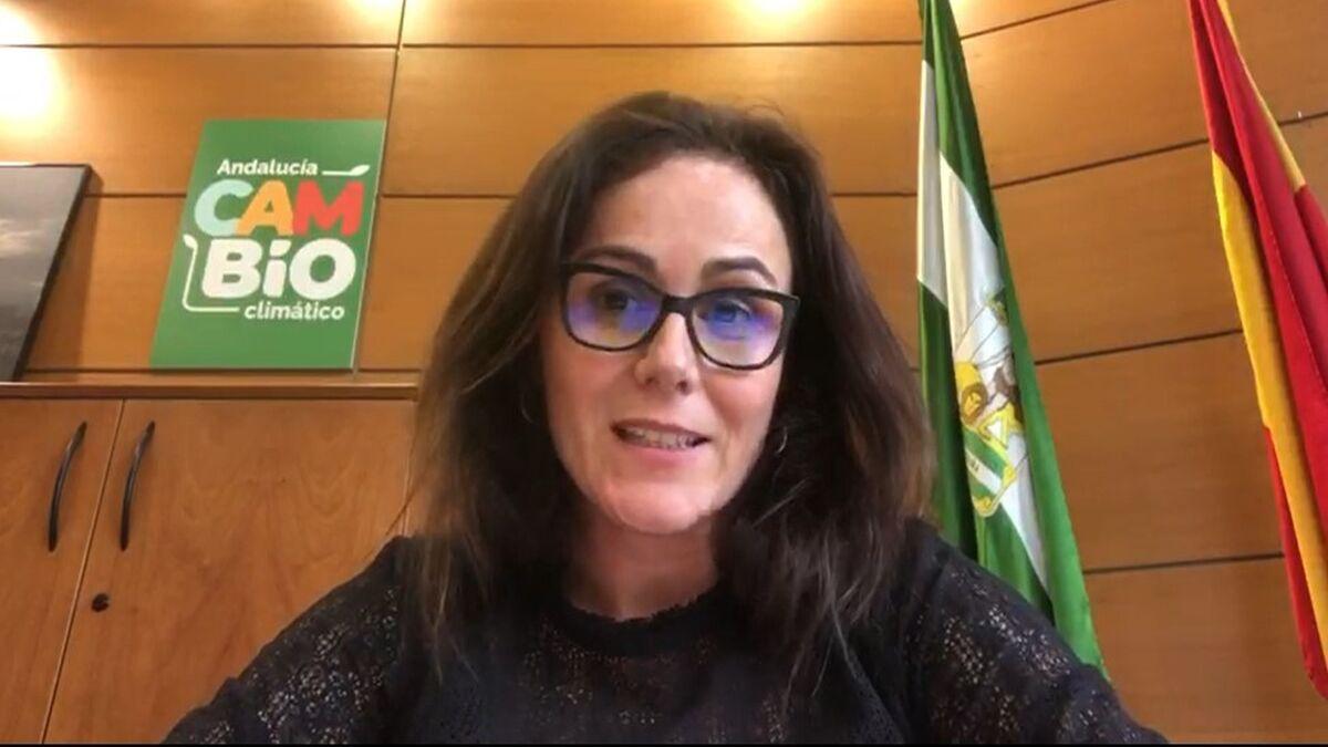 María López, directora general de Calidad Ambiental y Cambio Climático de la Junta de Andalucía.