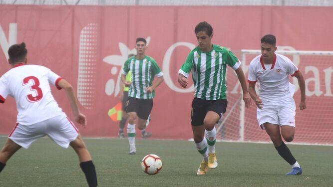 Un gol de Pablo le da el derbi juvenil al Betis ante el Sevilla (0-1)