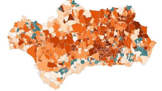 Mapa del coronavirus en Andalucía: superados los 100.000 curados de Covid-19 (102.458)