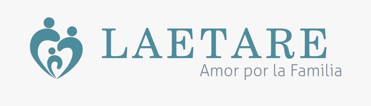 Logo y lema de la asociación Laetare.