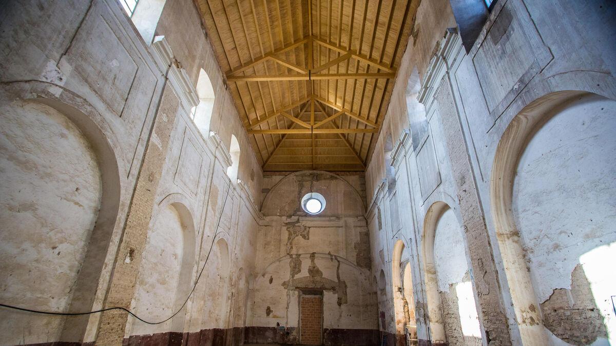 La rehabilitación de la antigua iglesia de San Laureano proseguirá con el estudio de las pinturas murales