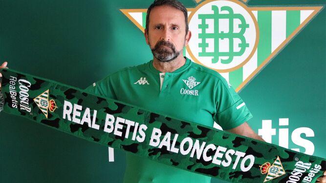 """Coosur Real Betis Joan Plaza: """"Es un reto apasionante por su dificultad"""""""