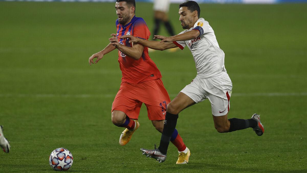 Los jugadores del Sevilla, uno por uno