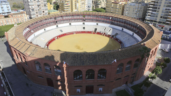La plaza de toros de la Malagueta.