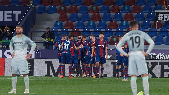 Levante - Betis: Resultado, resumen y goles del partido