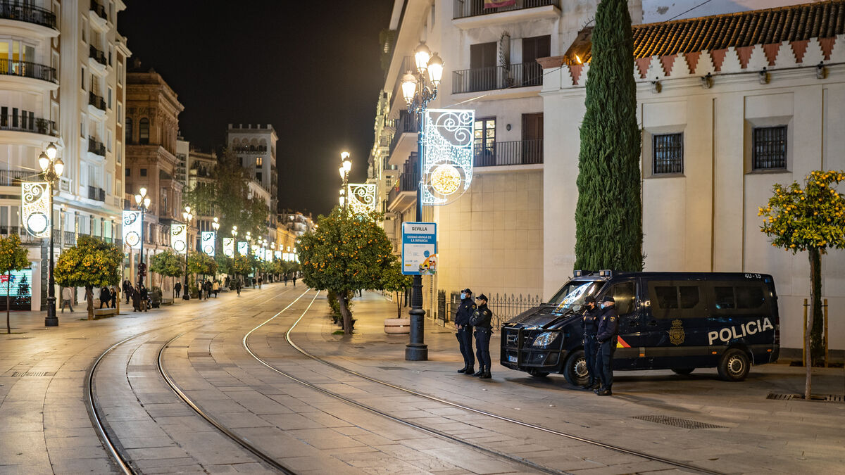 Coronavirus Sevilla: La llegada de 2021 deja menos hospitalizados y contagios