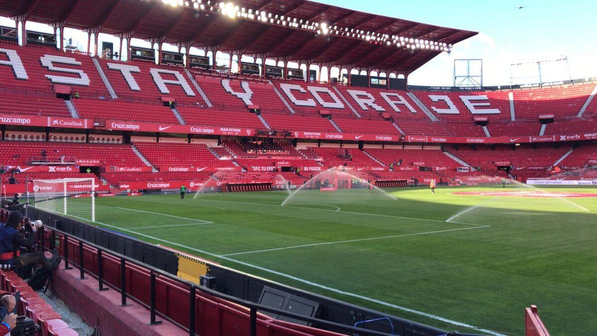 El Sevilla-Barcelona de Liga, en directo
