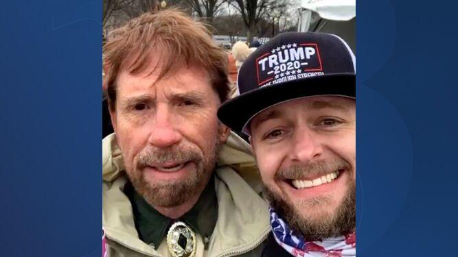 Chuck Norris No Es El Chuck Norris Que Asaltó El Capitolio
