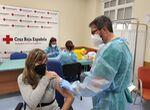 La vacuna contra la Covid-19  llega al Hospital Victoria Eugenia