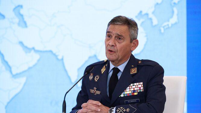 El general Miguel Ángel Villarroya.
