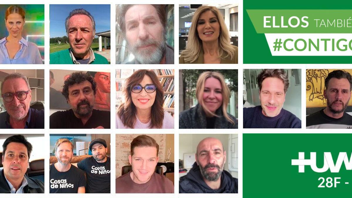 Coronavirus Sevilla: Rostros conocidos se unen a la campaña del Macarena para apoyar a los ingresados