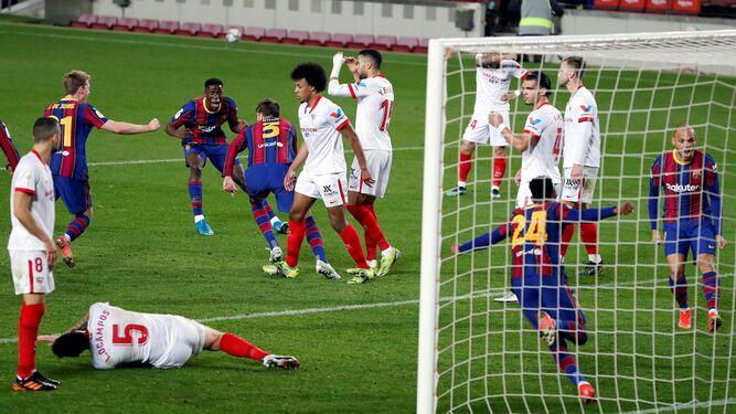 El Barcelona-Sevilla de la Copa del Rey, en directo: 3-0, el Barcelona, a  la final