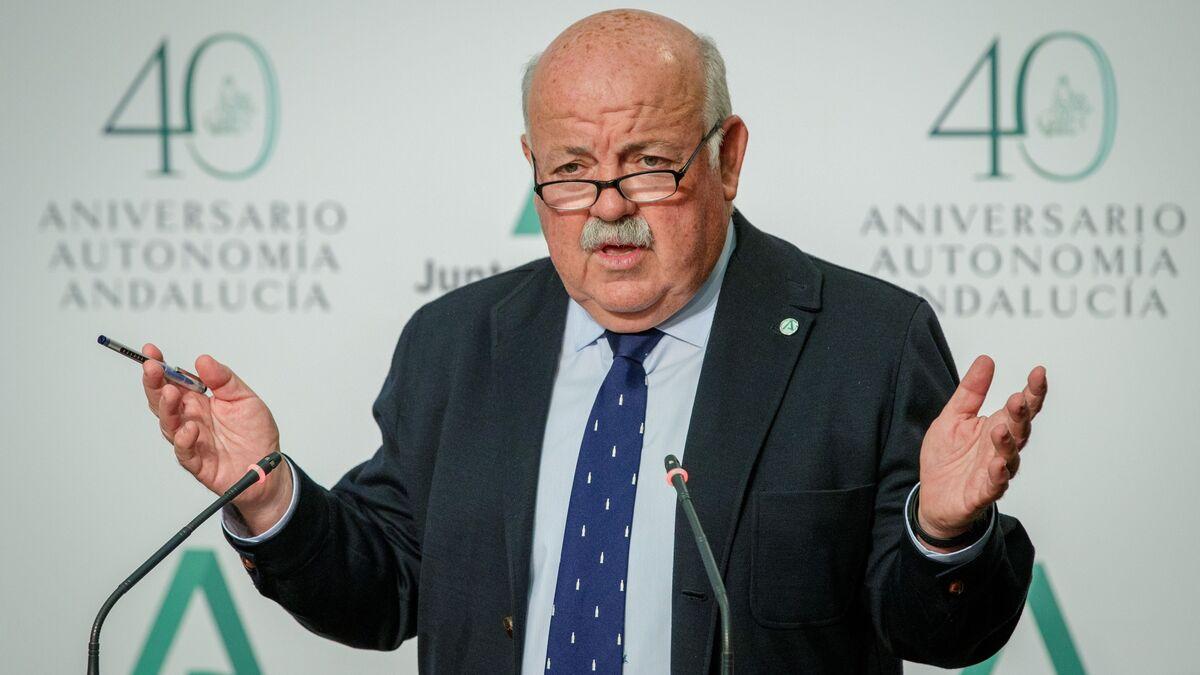 Comparecencia de urgencia de Aguirre para explicar cuándo se aplica el cierre de los bares en Sevilla a las 20:00
