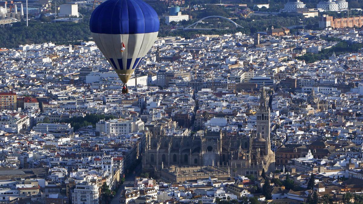 Globos por Sevilla