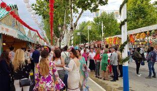 Feria de Mayo de Sanlúcar la Mayor.