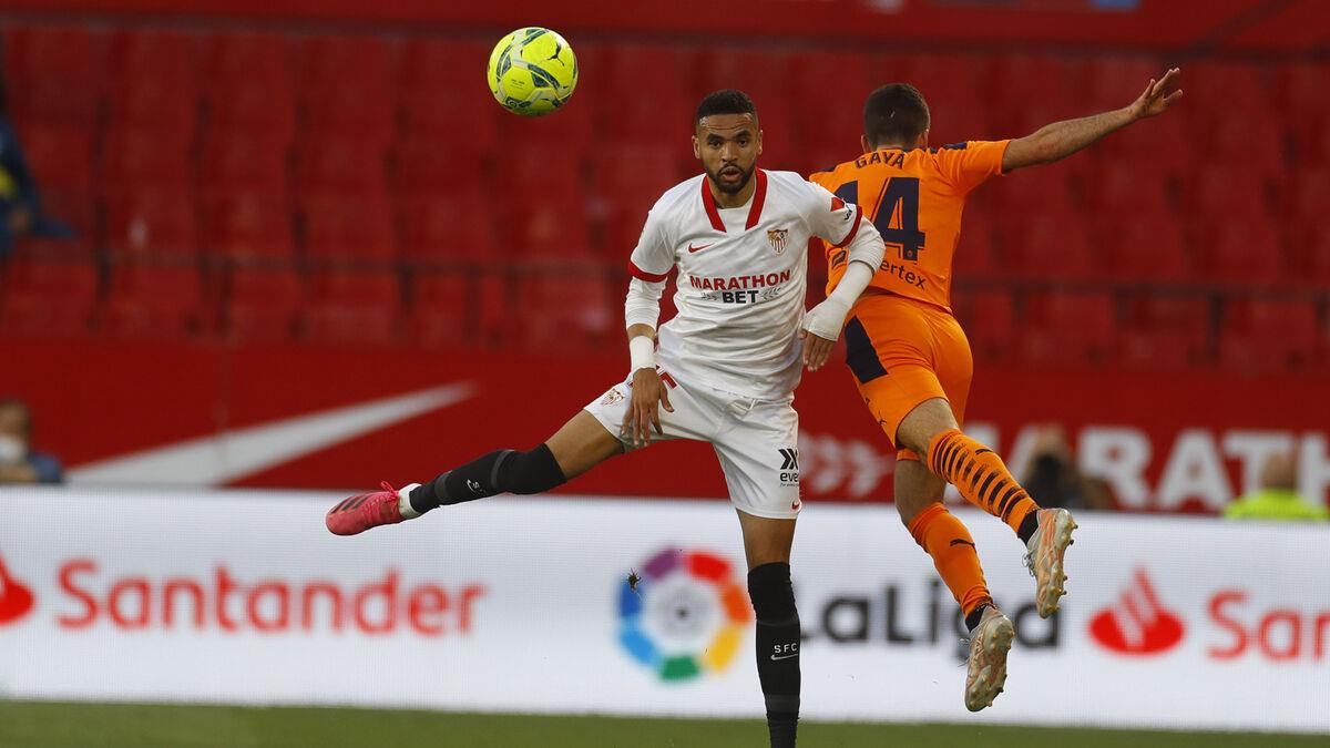 Sevilla-Valencia: Resultado, resumen y gol del partido de Liga (1-0)