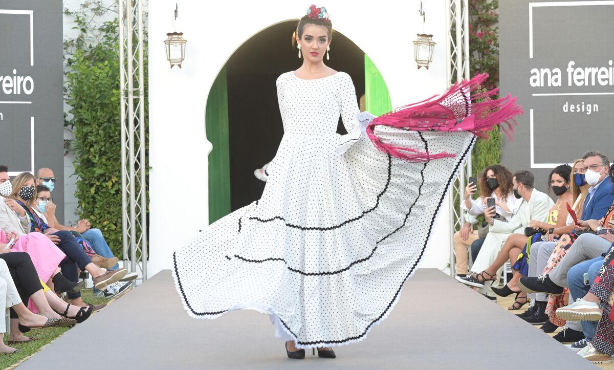 Una de las propuestas que pudieron verse en la pasarela La Unión Flamenca by WLF.