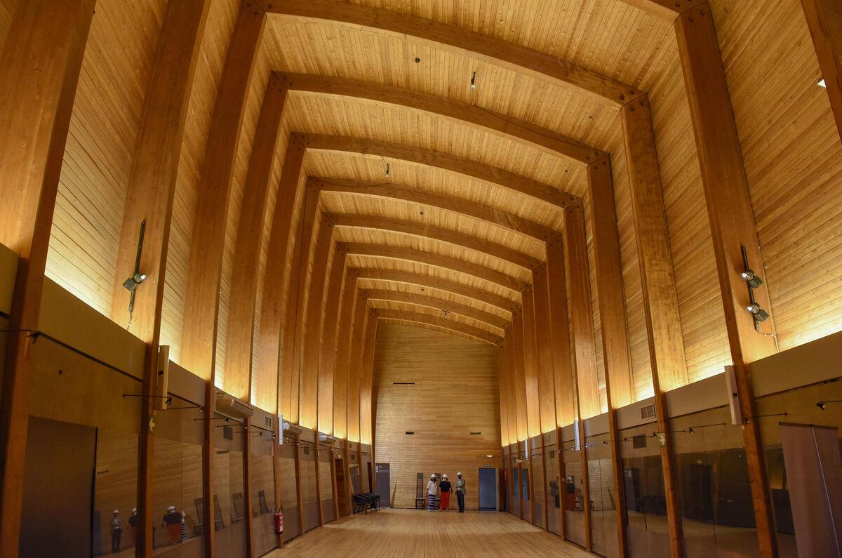 Rehabilitación del pabellón de Finlandia de la Expo del 92