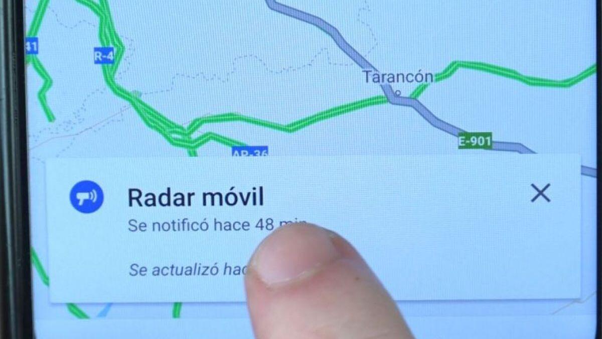 Cómo ver los radares de la DGT en Google Maps