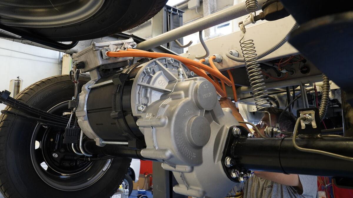 La potencia del motor se adapta a las necesidades concretas de cada cliente.