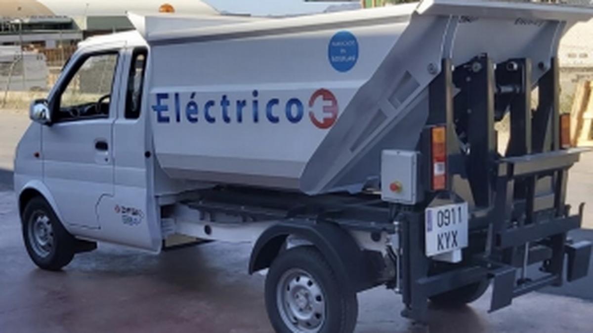 Las transformaciones pueden convertir al K01He en un vehículo para la recogida de residuos sólidos urbanos, entre otras muchas tareas.