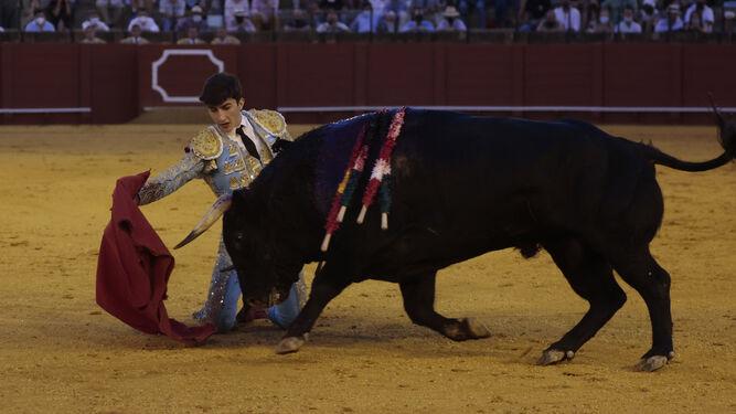 Manuel Perera Un novillero sin montera pero con agallas