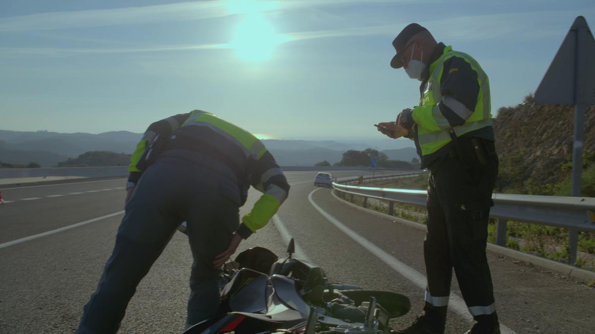 Una patrulla por la costa malagueña en 'Control de carreteras'