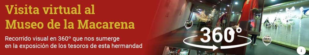 Tour virtual por el Museo de la Macarena