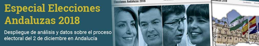 Especial sobre las elecciones autonómicas de Andalucía