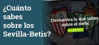 Cuestionario sobre el derbi Sevilla-Betis