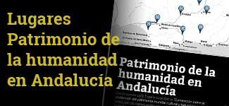 Storymap de los lugares Patrimonio de la Humanidad de Andalucía