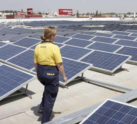 Ikea inaugura en sevilla su primera planta fotovoltaica en - Ikea de sevilla ...