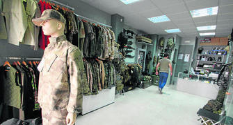 70e3d305b95 Un local especializado en ropa táctica